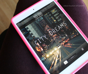 ipad, pink, and Dream image