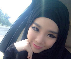 beautiful, hijab, and islamic image