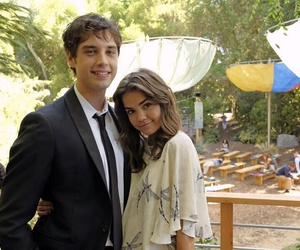 the fosters, david lambert, and maia mitchell image