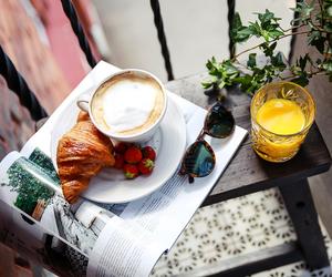 coffee, juice, and bykiki image