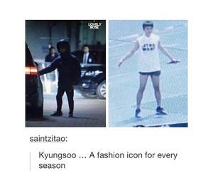 exo, kpop meme, and kyungsoo image
