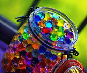 colors, colorful, and ball image