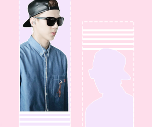 exo, sehun, and graphic image