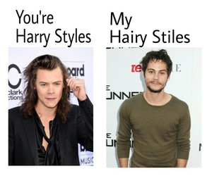 funny, Harry Styles, and 😂 image