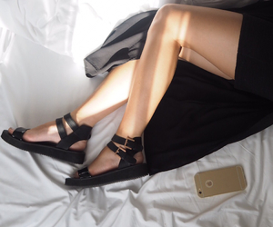 black, blogger, and gold image