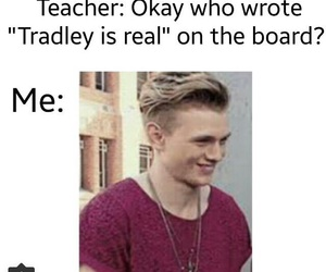 funny, the vamps, and tradley image
