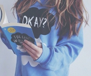 book, the fault in our stars, and okay image