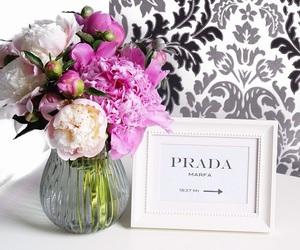 Prada and flowers image