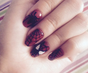 nails, spidey, and spider-man image