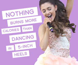 ariana grande and quote image