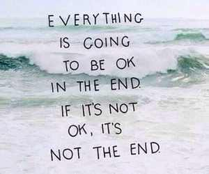 quote, end, and okay image
