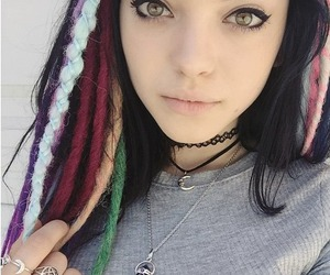 hey violet, beautiful, and rena image