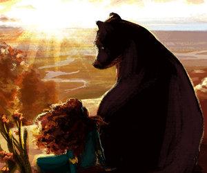 bear, brave, and disney image