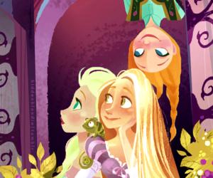 elsa, anna, and disney image