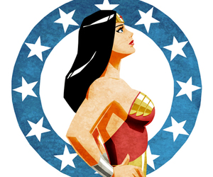 comics, fanart, and wonder woman image