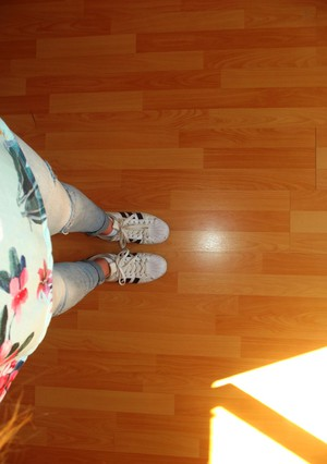 adidas, superstar, and ootd image