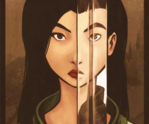 mulan, disney, and warrior image
