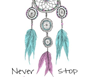 Dream, dream catcher, and dreaming image