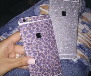 5, apple, and glitter image