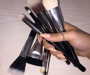 brush and makeup image