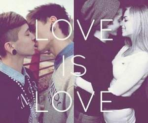 love, love is love, and gay image