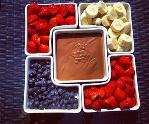 chocolate, strawberry, and fruit image