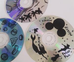 art, cd, and disney image
