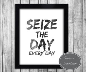 black and white, home decor, and quote image