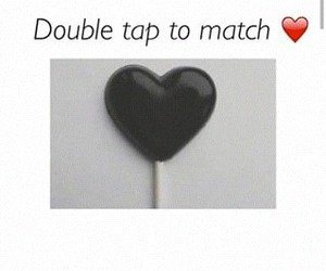 black, heart, and hearts image