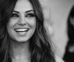 Mila Kunis and smile image