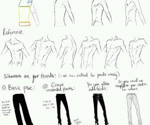 draw, drawing, and anatomy image