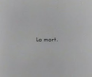 french and la mort image
