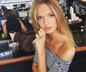 beauty, model, and romee strijd image