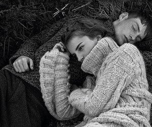 fields, vogue, and couple image