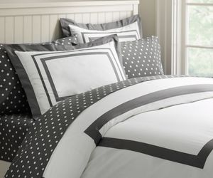 bedding, pbteen, and black and white image