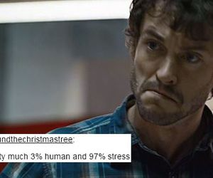 hannibal, lol, and stress image