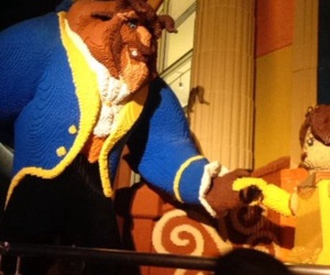 beauty and the beast, disney, and disneyland image