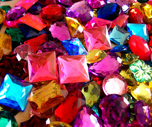 colors, gems, and shiny image
