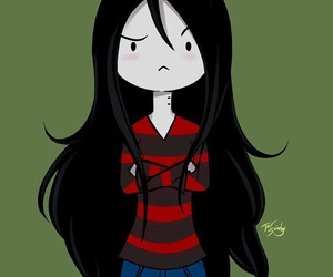 vampire, adventure time, and marceline image