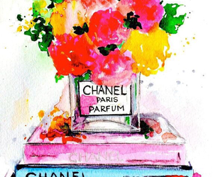 art, background, and chanel image