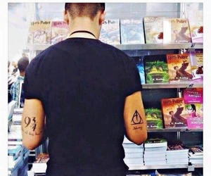 harry potter, book, and boy image