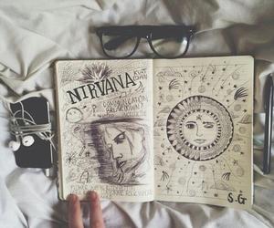 nirvana, grunge, and art image