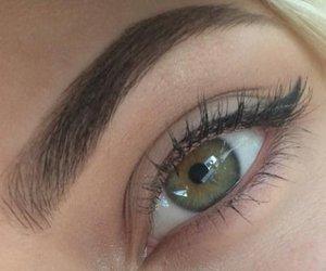 eyes, eye, and green eyes image