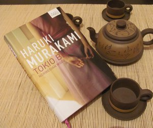 book, haruki murakami, and japanese image