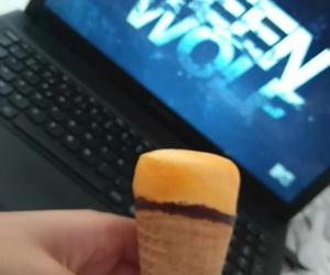 eat, ice cream, and serie image