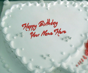 happy birthday cake, mynamepix, and name cakes image