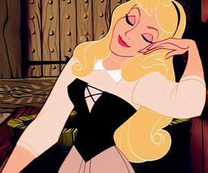 animation, girl, and sleeping beauty image