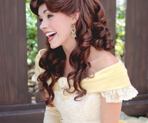 beauty and the beast, belle, and face character image