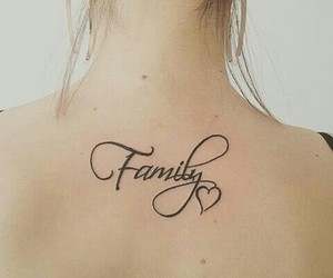 beautiful, family, and tattoo image