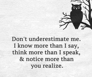 quotes, think, and underestimate image